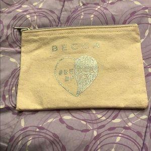 Becca makeup bag